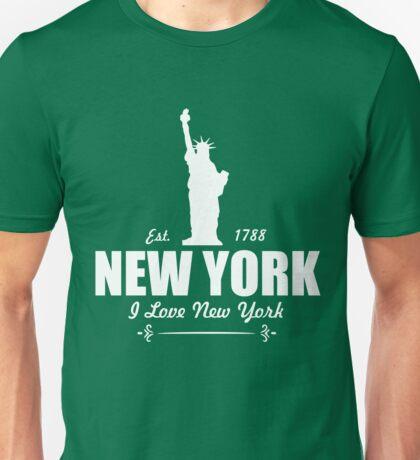 New York I Love  Unisex T-Shirt