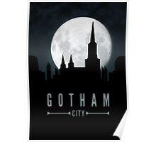 Gotham Moon Poster
