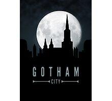 Gotham Moon Photographic Print