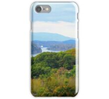 Fall on the Hudson iPhone Case/Skin