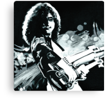 Jimmy Page. Led Zeppelin IV Remastered  Canvas Print
