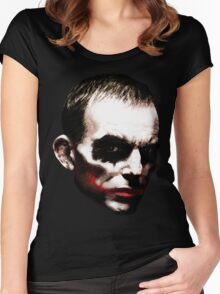 Abbott is a Joker Women's Fitted Scoop T-Shirt