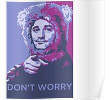 Bill Bear Murray Poster