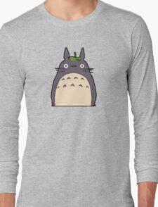 Totoro - Big Totoro is big Long Sleeve T-Shirt