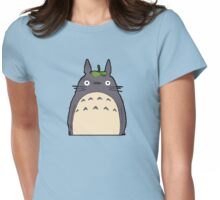 Totoro - Big Totoro is big Womens Fitted T-Shirt
