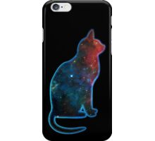 Space cat, Universe, Kosmos, Galaxy, Star iPhone Case/Skin