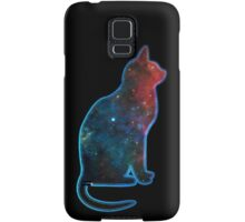 Space cat, Universe, Kosmos, Galaxy, Star Samsung Galaxy Case/Skin