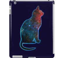 Space cat, Universe, Kosmos, Galaxy, Star iPad Case/Skin
