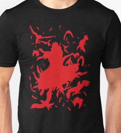 Red Minimalist Unisex T-Shirt