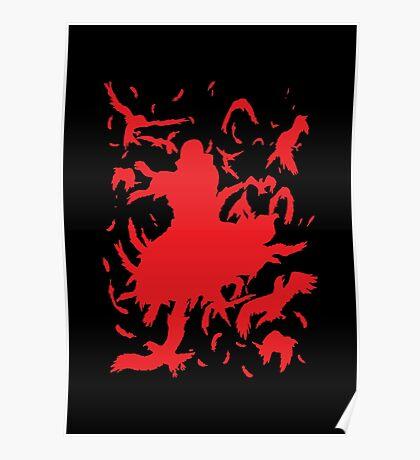 Red Minimalist Poster