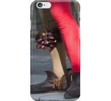 dances and dances with drum and bagpipe iPhone Case/Skin