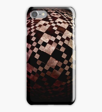 Checkered Sphere 2 iPhone Case/Skin