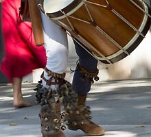 dances and dances with drum and bagpipe by spetenfia