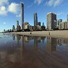 Surfers Paradise. Gold Coast, Queensland, Australia. by Ralph de Zilva