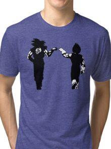 Goku Vegeta Brofist Tri-blend T-Shirt