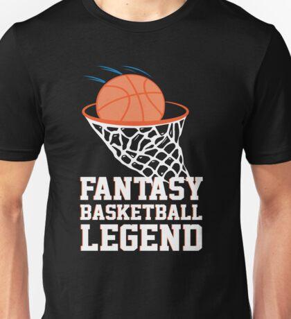 Fantasy Basketball Legend Unisex T-Shirt