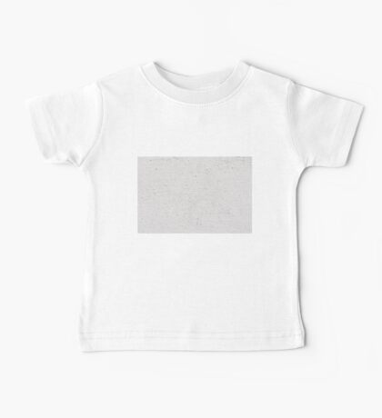 White grained paint wall texture abstract Baby Tee