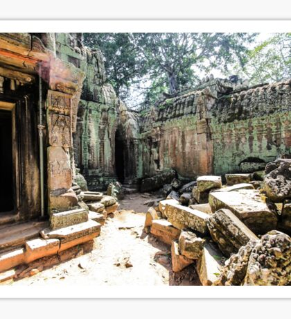 Ruins in Siem Reap Sticker