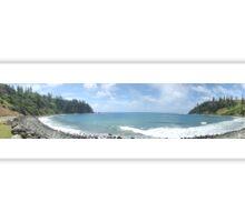 Norfolk Island Ocean Bay  Sticker