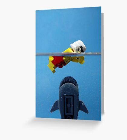 Star-Jaws Greeting Card