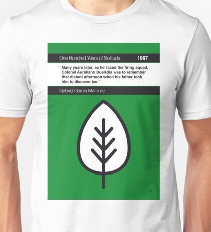 No004 MY One Hundred Years of Solitude Book Icon poster Unisex T-Shirt