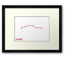 Mazda RX-4 Framed Print