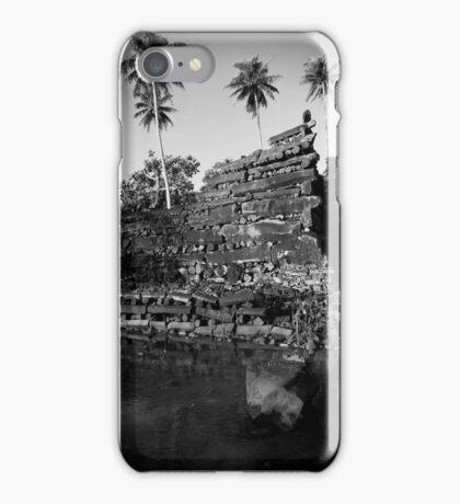 Nan Douwas Outer Wall - Pohnpei, Micronesia iPhone Case/Skin