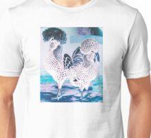 Chooks - Silver Spangled Polish Rev Unisex T-Shirt