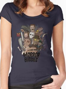 Horror Baddies Women's Fitted Scoop T-Shirt