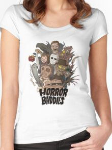 Horror Baddies Women's Fitted Scoop T-Shirt