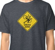 Cyclocross Zone Road Sign Classic T-Shirt