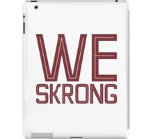 We Skrong iPad Case/Skin