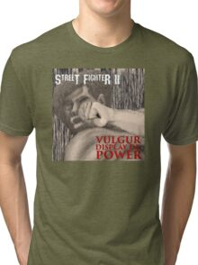 Vulgur Display of Street Fighter Tri-blend T-Shirt