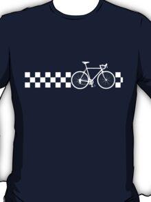 Bike Stripes Peugeot (White Retro) T-Shirt