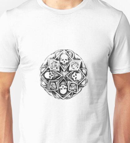Gothic Mandala Unisex T-Shirt