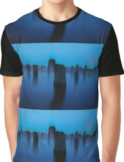 BLUE BRUSH - 9 Graphic T-Shirt