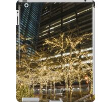 Millions of Christmas Lights in the Heart of Manhattan, New York City iPad Case/Skin