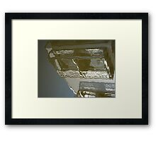 In a refelctive mood Framed Print