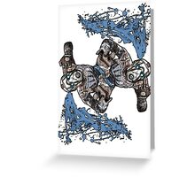 Borderlands The Presequel - The Psycho Psychoing Greeting Card