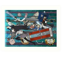 Time Travellers Art Print