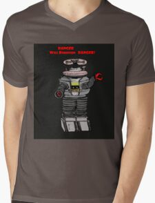 Danger Will Robinson, Danger! Mens V-Neck T-Shirt