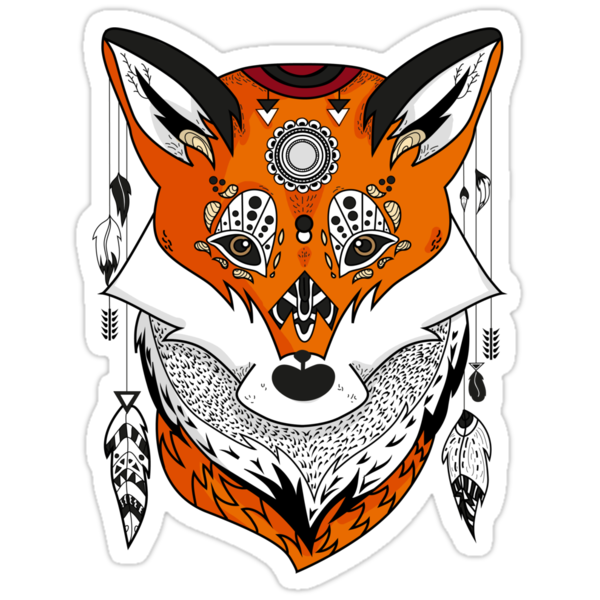 Fox Head by lunaticpark