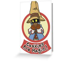 Cookies Are Magic! Greeting Card