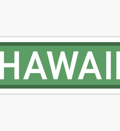 Hawaii G Sticker