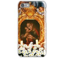 Miraculous image of Our Lady of Inzing Tyrol iPhone Case/Skin