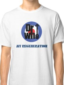 Dr Who My Regeneration Classic T-Shirt
