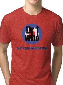 Dr Who My Regeneration Tri-blend T-Shirt