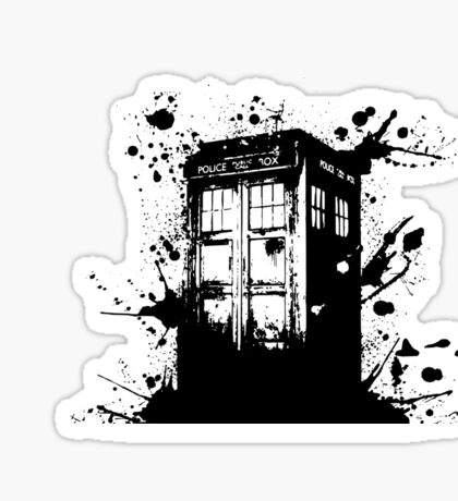 Tardis - Doctor Who  Sticker