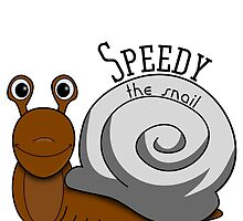 Speedy the Snail by Funky-Designs