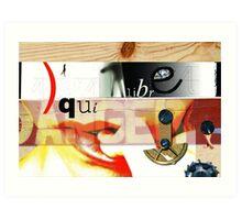 Faux-Collages #01 Art Print